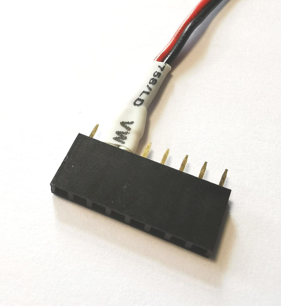 Stromversorgung für Raspberry Pi per Buchsenleiste