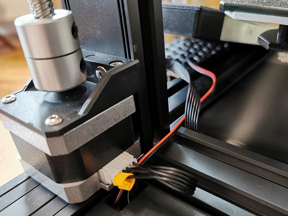 Stromzuführung für Raspberry Pi am Creality CR-6 SE