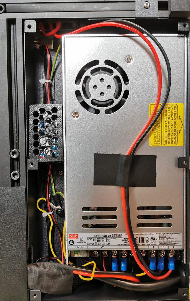 Creality CR-6 SE mit eingebautem LM2596 Step-Down Converter